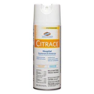Clorox Healthcare Citrace Hospital Citrus Scent Disinfectant & Deodorizer, 14 oz, (Pack of 12)