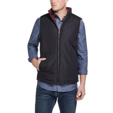 Weatherproof Vintage Men's Reversible Quilted-To-Flannel Vest