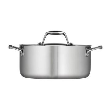 Tramontina Gourmet Tri-Ply Clad Stainless Steel 5-qt. Dutch Oven