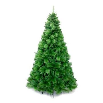 ALEKO Traditional Artificial Indoor Christmas Holiday Tree - 7 Ft
