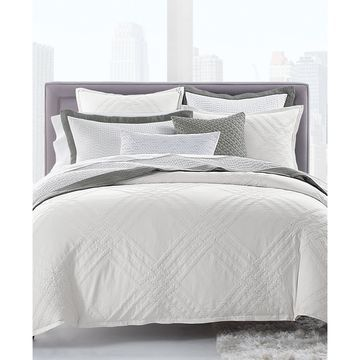 Locked Geo King Comforter, Created for Macy's