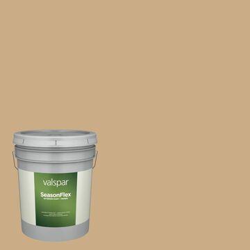 Valspar SeasonFlex Satin Dromedary Camel Hgsw3164 Exterior Paint (5-Gallon)