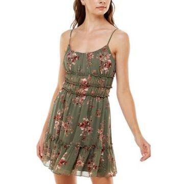 Trixxi Juniors' Emma Ruffled Dress