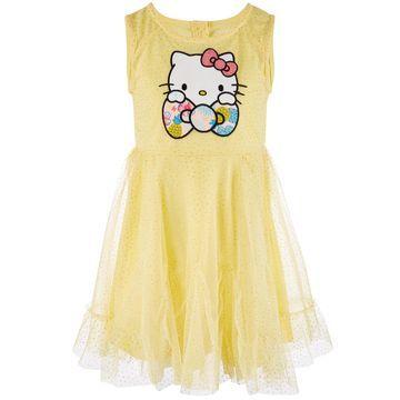 Little Girls Glitter Mesh Dress, Created for Macy's