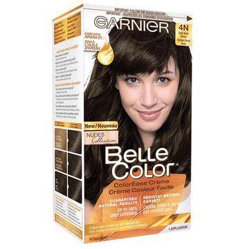 Garnier Belle Color ColorEase Creme, Dark Nude Brown 4N