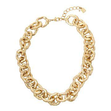 Robert Lee Morris Soho Women's Organic Link Collar Necklace
