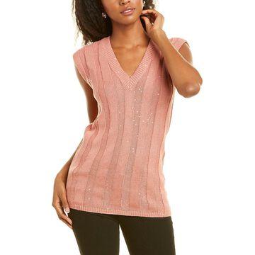 Brunello Cucinelli Linen & Silk-Blend Sweater