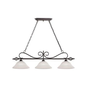 Cornerstone Santa Fe 3-Light Pendant, Oil Rubbed Bronze