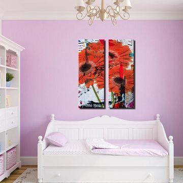 Ready2HangArt 'Painted Petals LXXXI' 2 Piece Canvas Wall Art Set
