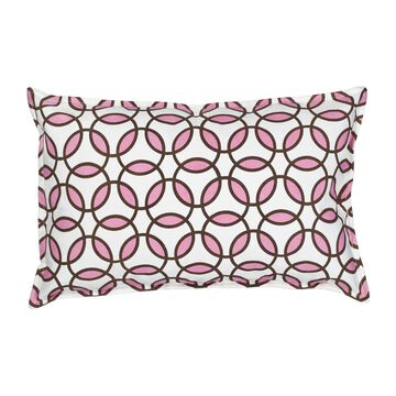 Rings Cotton Canvas 14-inch x 22-inch Pillow