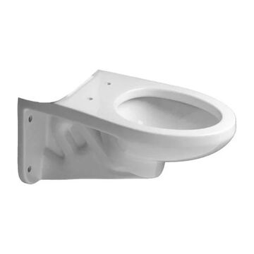 PROFLO PF1705HE Wall Mount Elongated Toilet Bowl Only - White