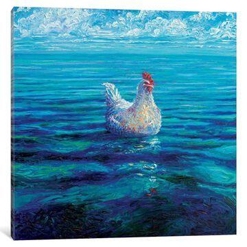 iCanvas 'Chicken Of The Sea' by Iris Scott Canvas Print