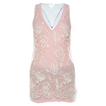 Emanuel Ungaro Pink Cotton Tops