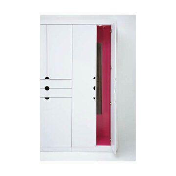 Rev-A-Shelf CM-1448-1 CM Series 3-7/16 Inch Wide Pullout Closet Mirror