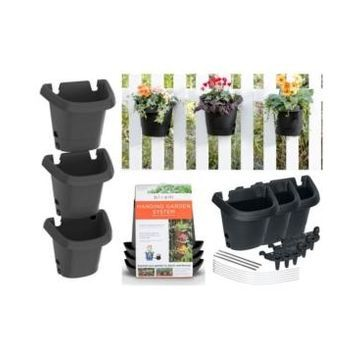 Bloem 3 Pack Hanging Garden Planter Kit
