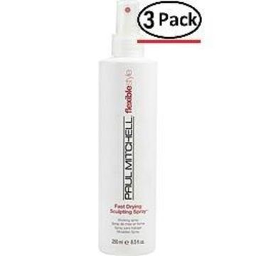 Paul Mitchell By Paul Mitchell Fast Drying Sculpting Spray Medium Hold 8.5 Oz For Unisex (Package Of 3)