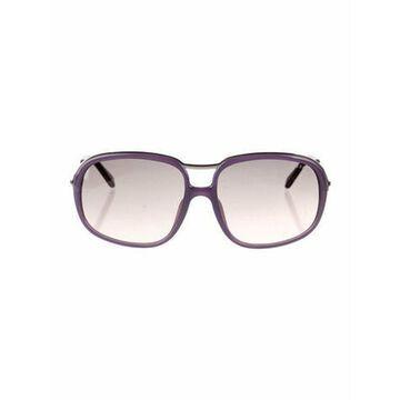 Aviator Gradient Sunglasses Purple