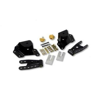 BELLTECH (KW AUTOMOTIVE) 6512 99-06 GM/GMC 1500 STD CAB 4IN SHACKLE AND HANGER KIT