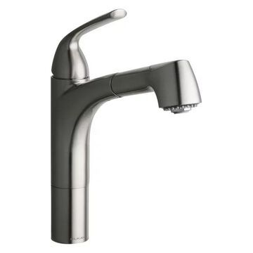 Elkay Gourmet Kitchen Faucet Pull-Out Spray, Brushed Nickel