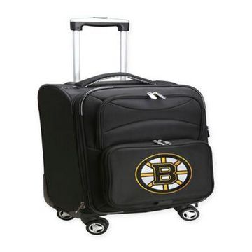 NHL Boston Bruins 20-Inch Carry On Spinner