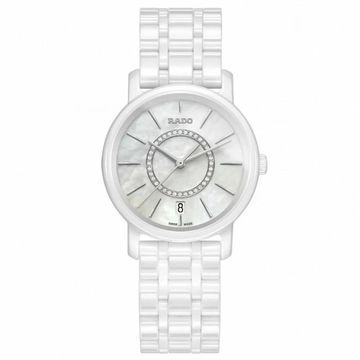 Rado Women's DiaMaster Mother of Pearl Dial Watch - R14065907
