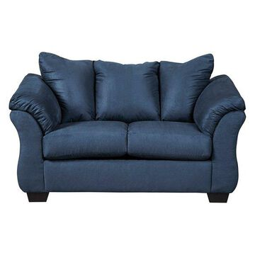 Flash Furniture Contemporary Loveseat, Blue