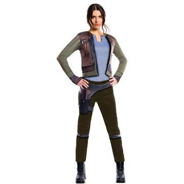 Morris Costume RU820314SM Jyn Erso Adult Deluxe Costume, Small
