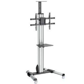 StarTech.com TV Cart - Height Adjustable Lockable Wheels Tilt for 32 t