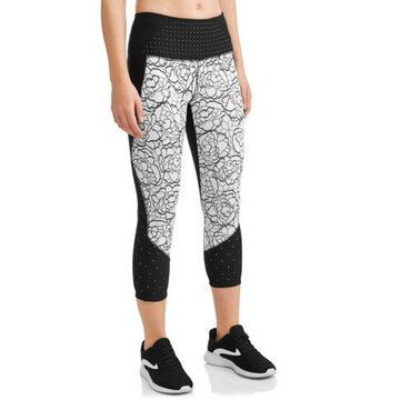 Women's Active Capri Length Legging With Tummy Control