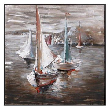 Imax Sail Away Oil Painting