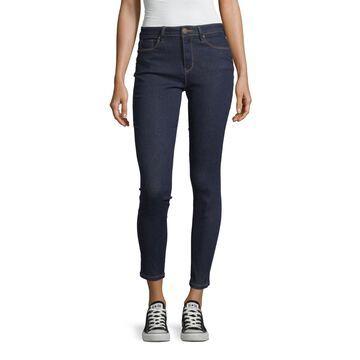 Ymi Womens High Waisted Skinny Regular Fit Jean - Juniors