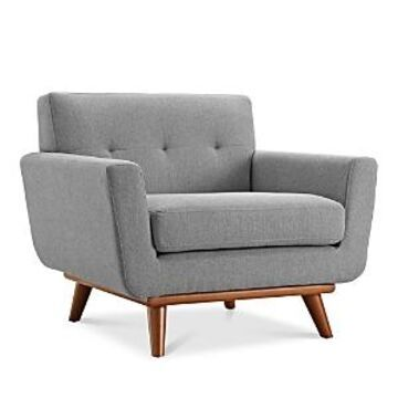 Modway Engage Upholstered Fabric Armchair