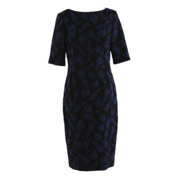 Lela Rose Blue Polyester Dresses