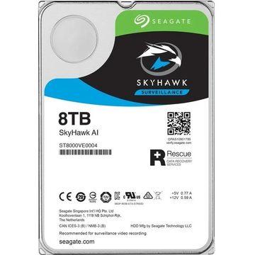 Seagate st8000ve0004 skyhawk ai 8tb sata up to 64 camera supported