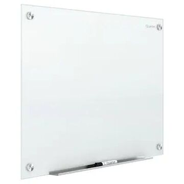 Quartet Infinity Magnetic Glass Dry-Erase Whiteboard, White, 8 x 4 (G9648W) | Quill