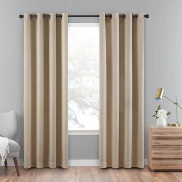 eclipse Cara Absolute Zero 100% Blackout Window Curtain