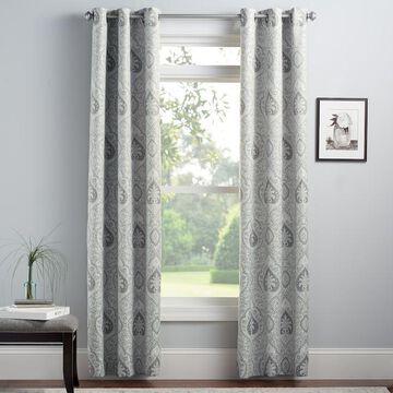 Croft & Barrow 2-pack Naples Window Curtains
