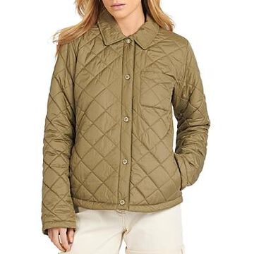 Barbour Blue Caps Box Quilted Jacket