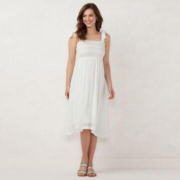 LC Lauren Conrad Smocked Dress