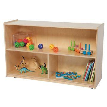 Wood Designs 30H in. Versatile Storage Unit - Natural