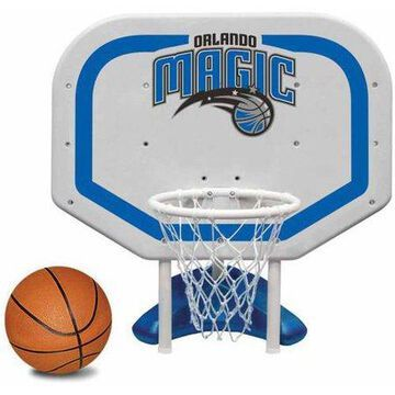 Poolmaster Orlando Magic NBA Pro Rebounder-Style Poolside Basketball Game