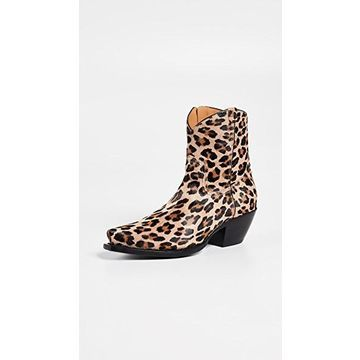 R13 Cowboy Ankle Booties