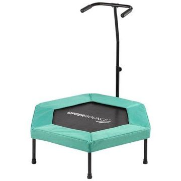 Upper Bounce 40-Inch Fitness Trampoline, with Adjustable Hand Rail