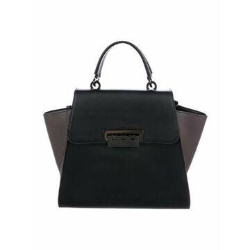 Leather Eartha Shoulder Bag Black