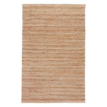 Jaipur Living Canterbury Natural Solid Tan/White Area Rug, 2'6