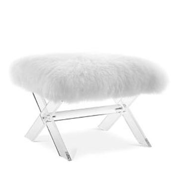 Modway Swift Sheepskin Bench