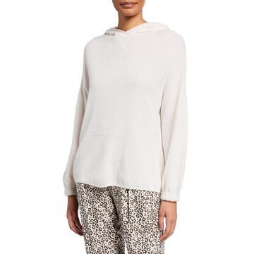Long-Sleeve Hooded Sweater