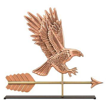 American Eagle Copper Table Top Sculpture