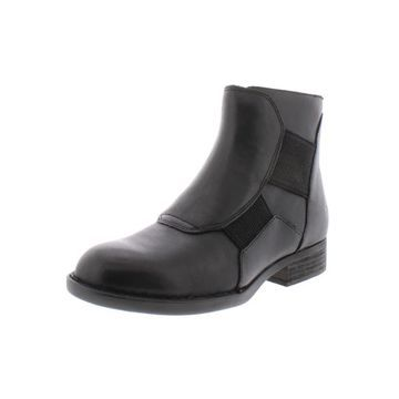 Born Womens Reid Ankle Boots Leather Flat
