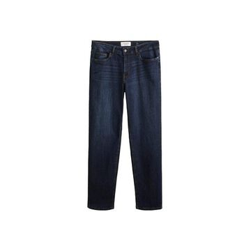 Violeta BY MANGO - Relaxed Ely Jeans dark blue - 8 - Plus sizes